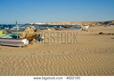Beach In Sur, Oman