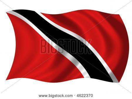Trinidad & Tobago Flag Of