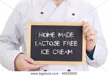 Home Made Lactose Free Ice Cream