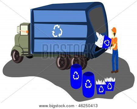 recycle workers