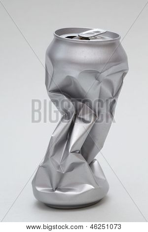 Crushed Aluminum Can