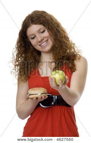 Hamburger Or Apple