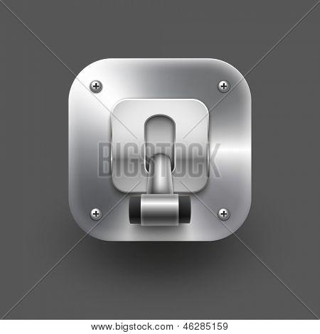 Switch icon. Vector eps 10