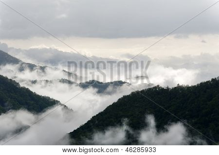 Dark Mountains And Mist