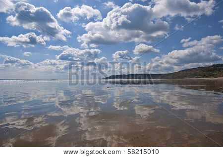 Beach Reflections