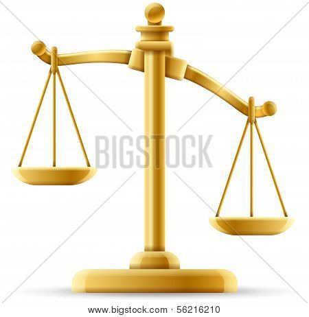 Unbalanced Justice Scale