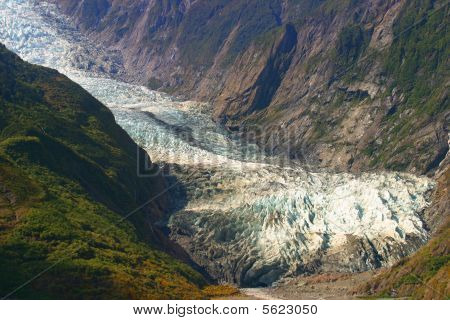Franz Josef ice-flow, New Zealand
