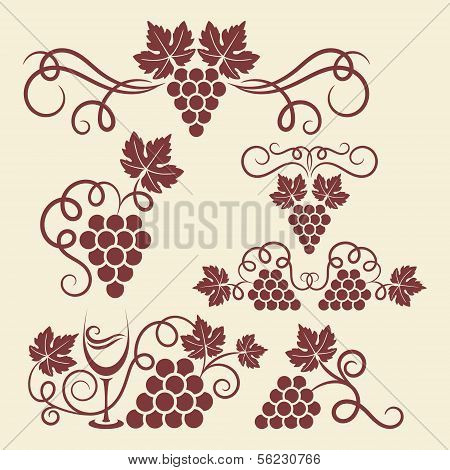 grape vine elements