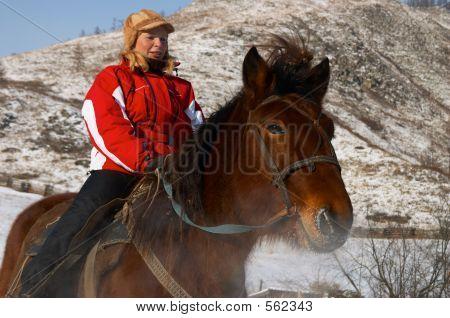 Women On Horseback.
