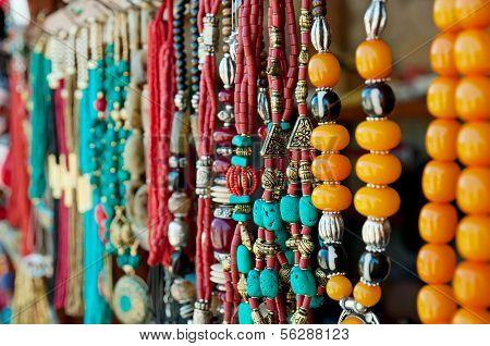 Jewelry at market