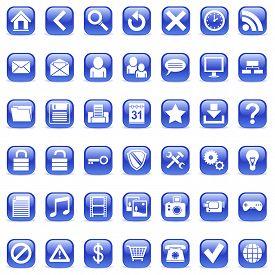 Icônes du Web.