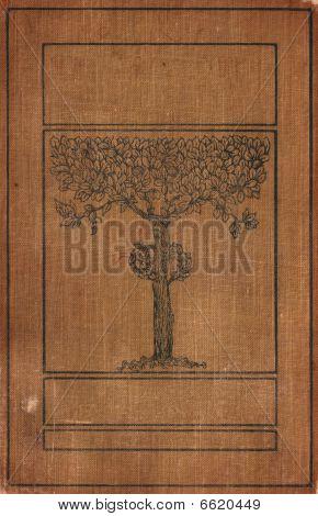 Vintage Tree Bookcover Blanked