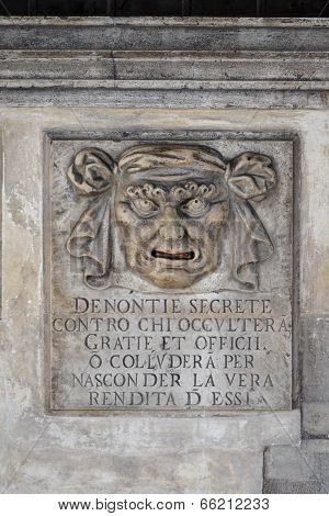 Venice Palace Detail