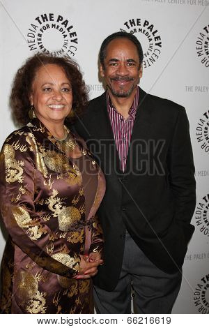 LOS ANGELES - JUN 4:  Daphne Maxwell Reid, Tim Reid at the Baby, If You've Ever Wondered: A WKRP in Cincinnati Reunion at Paley Center For Media on June 4, 2014 in Beverly Hills, CA