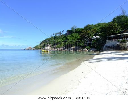 Beach in Koh Phangan, Thailand.