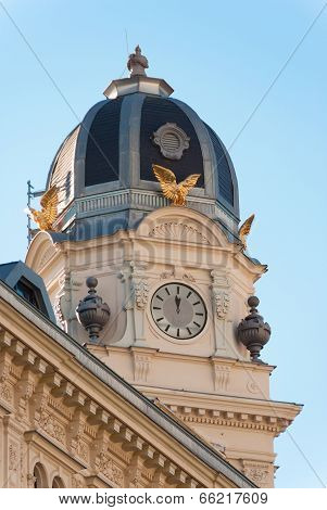 Austria, Vienna, Graben 8, Clocks Always Show The Same Time