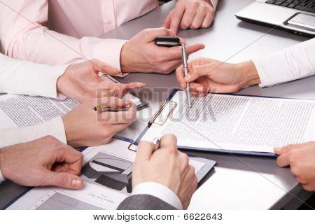 At Briefing