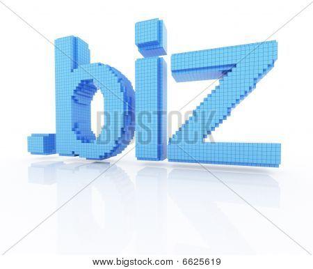 Pixel Domain Symbol Dot Biz