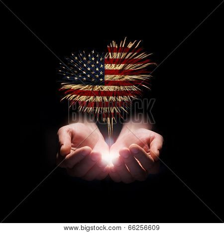 Independence Day. My Heart With Love To Usa.