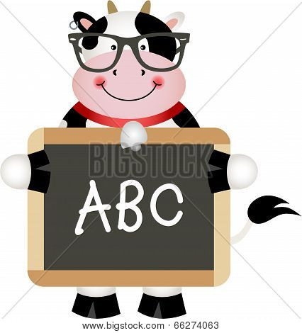 Funny Cow Teacher