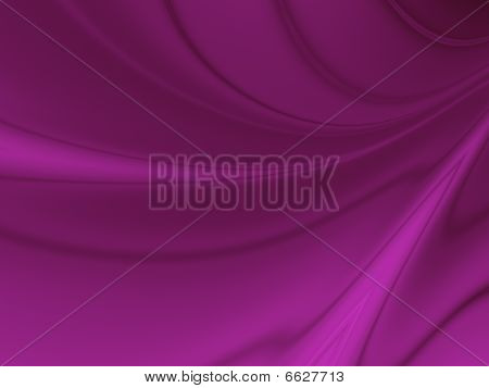 Abstract Curvy Background in Purple
