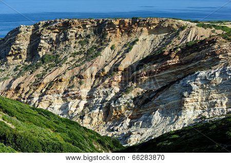 The Coastline Near Cape Espichel, Portugal