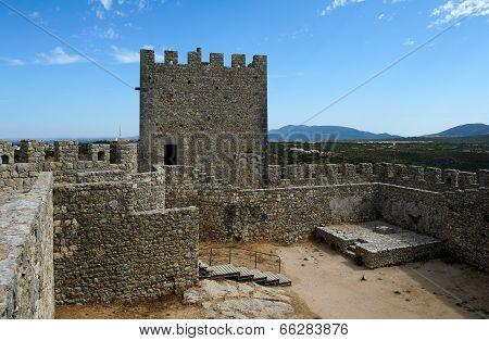 Medieval Castle Castelo Dos Mouros, Sesimbra, Portugal