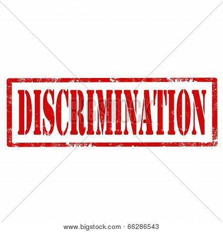 Discrimination-stamp