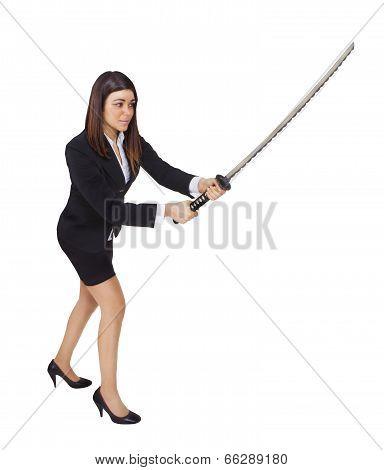 Business Woman Ninja