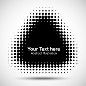 Abstract Halftone Design Element, vector illustration  for your design poster