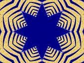 Fractal Star Design poster