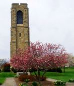 Frederick Bell Tower in Baker Park in Frederick, Maryland poster