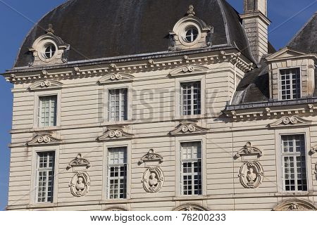 Castle Of Cheverny, Indre-et-loire, Centre, France