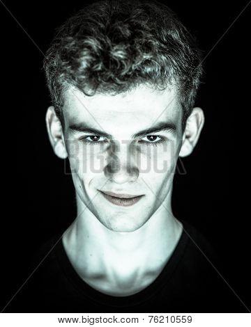 Devilish Young Man