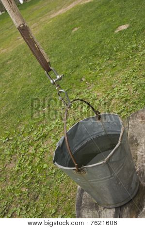 Bucket On Well