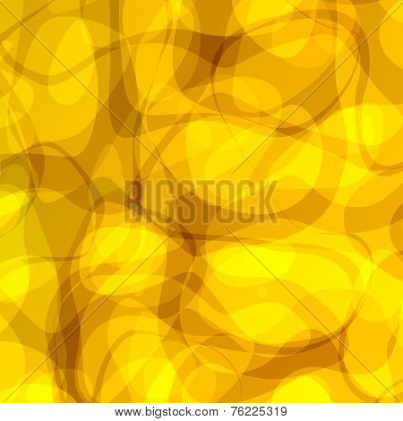 Abstract yellow background. Cover design. Aromatherapy essential oil. Illustration graphic.
