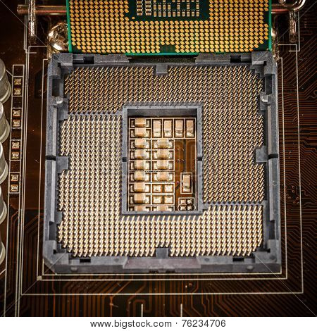 Modern socket motherboard for a home computer