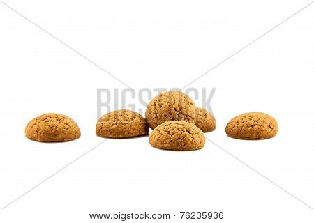 Group Of Six Ginger Pepernoten