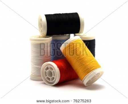 Six Cotton Reels