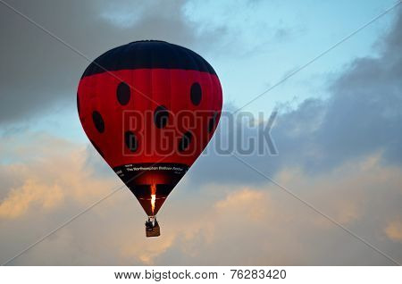 Low Flying Hot Air Balloon