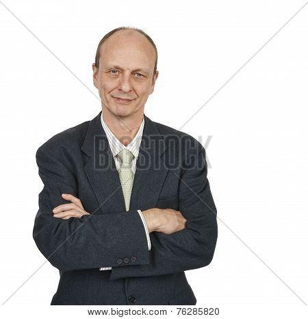 Portrait Of A Senior Businessman Smiling