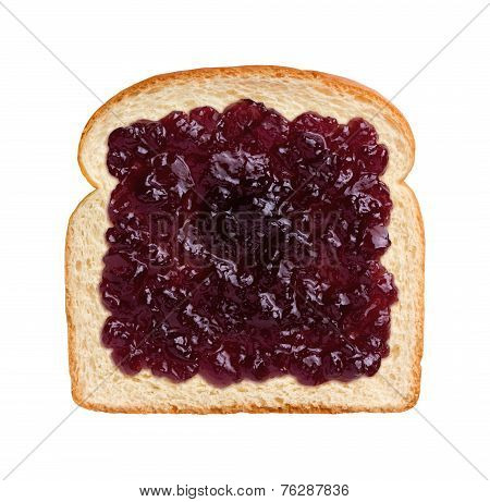 Grape Jelly On Bread