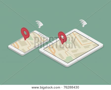 Synchronization of smartphone and tablet pc