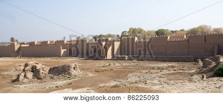 The ancient city of Babylon