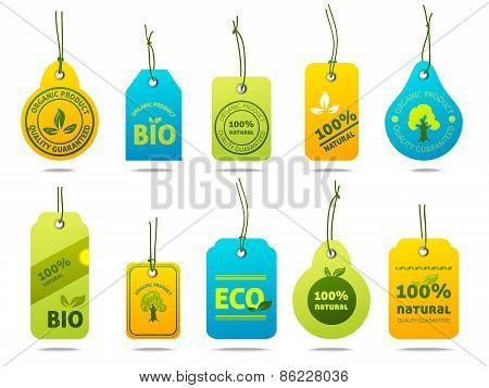 Ecology Cardboard Labels