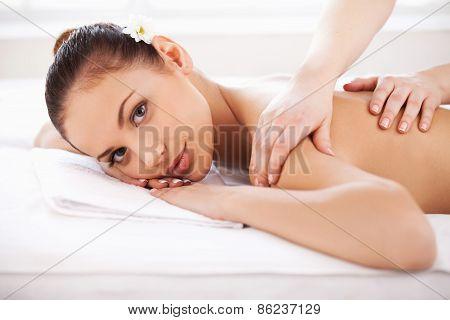 Massage At Spa.