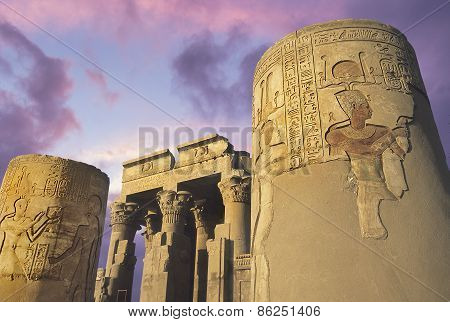 Temple of Kom-Ombo, Eygpt