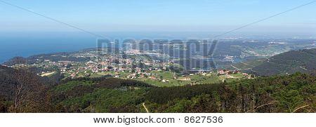 Coast Villages In Asturias Panoramic