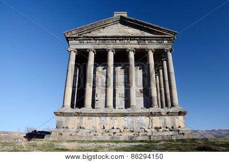Garni Temple,dedicated To Sun God Mithra - Classical Hellenistic Building , Armenia
