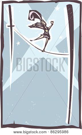 Tightrope Walker Spotlight